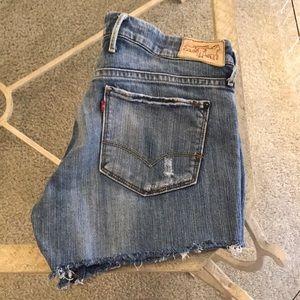 Levi's Cut-off Jean Shorts